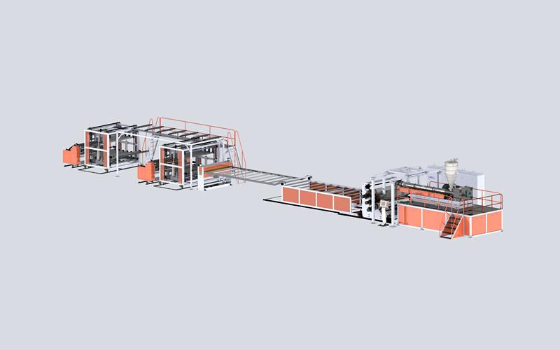 PVC水晶板生产线